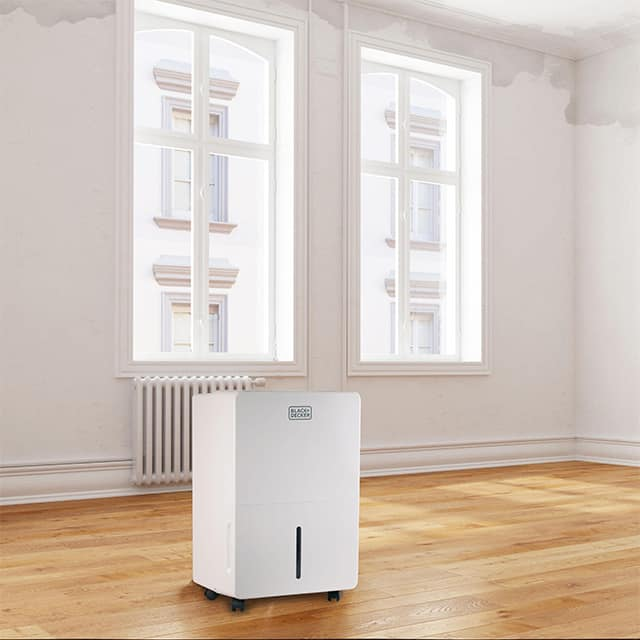 dehumidifier-with-pump-in-a-room