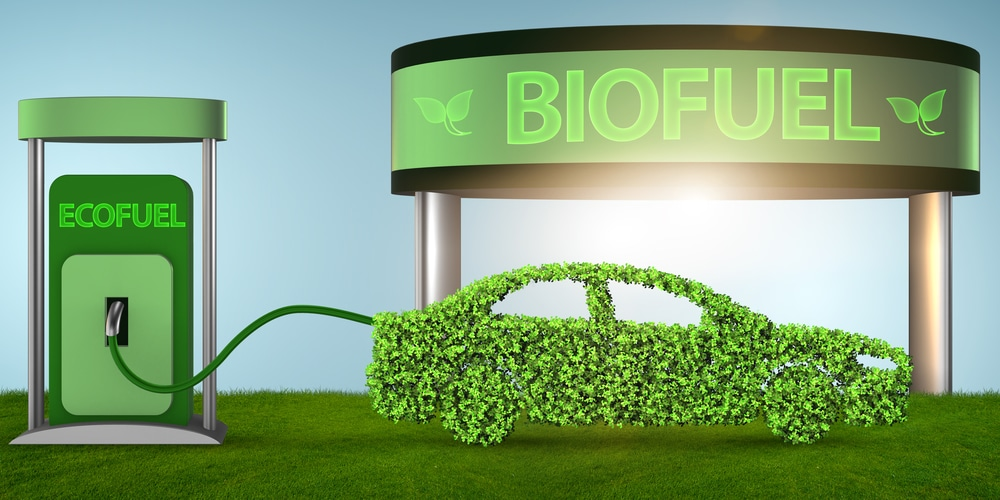 Car powered by biofuel