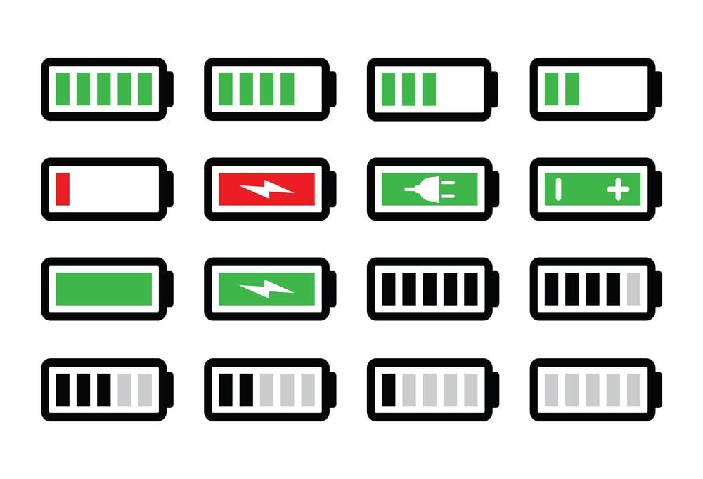 Laptop power indicator