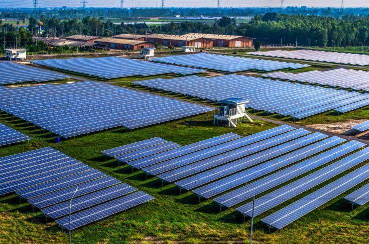 Solar farm/field