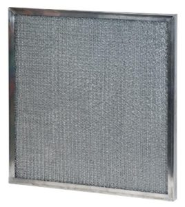Metal Mesh Filters in white background